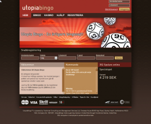 Utopia Bingo