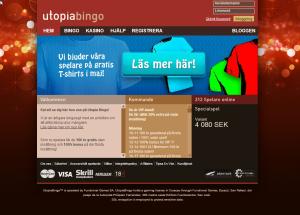 Utopiabingo - Gratis thsirt