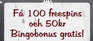 100 freespins