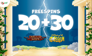 PAF - 50 freespins