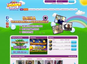 Spela bingo och visa upp dig i din webbkamera om du vill!